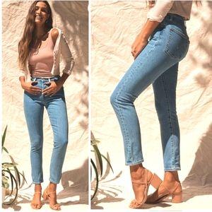 NEW Levi's Premium 501 Skinny Ankle Jeans
